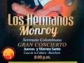 conciertohermanosmonroycasaculturabarichara2017