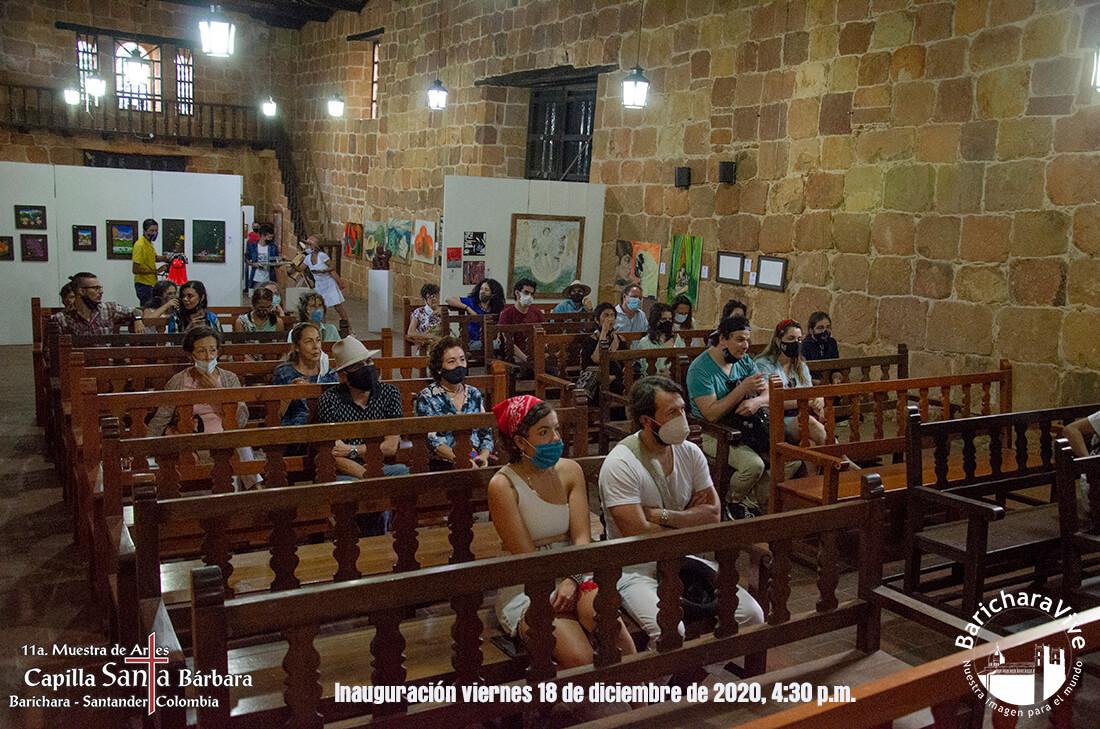 29-inauguracion-11-muestra-de-artes-capilla-santa-barbara-barichara-2020