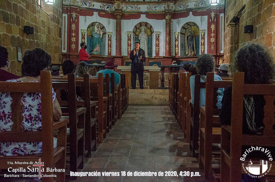 36-inauguracion-11-muestra-de-artes-capilla-santa-barbara-barichara-2020