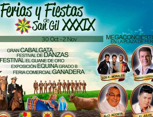 39 Ferias y Fiestas de San Gil 2015
