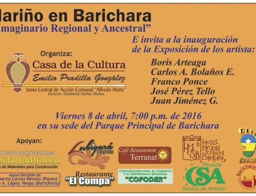 Exposición Nariño en Barichara