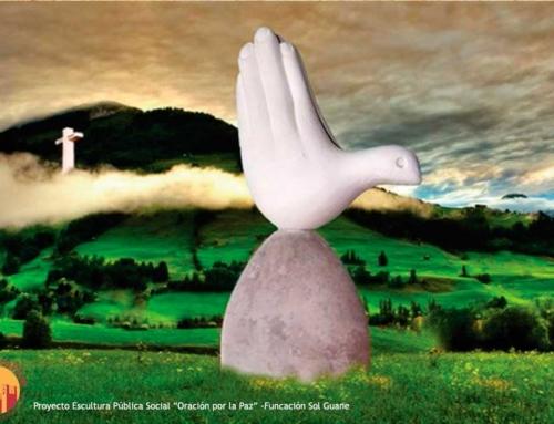 """Proyecto Escultura """"Oración por la Paz"""""""