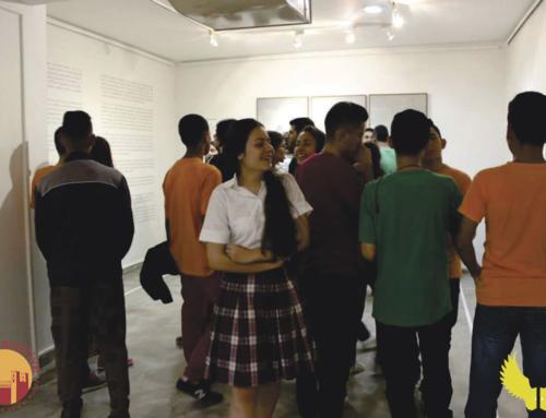 ¡Bucaramanga vivió una experiencia directa con el arte!