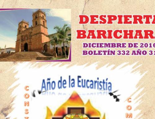 Despierta Barichara mes de Diciembre