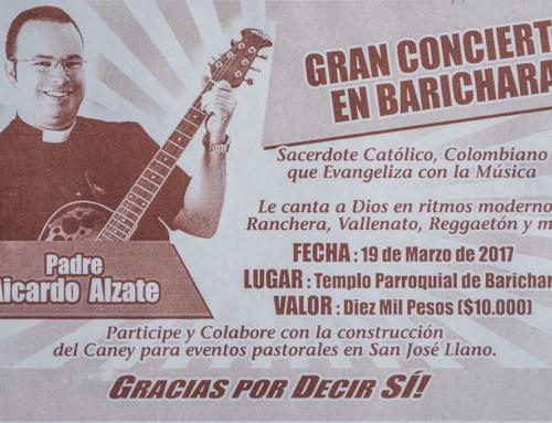 Concierto del Padre Aicardo en Barichara