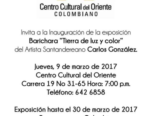 """Exposición Barichra """"Tierra de luz y color"""""""