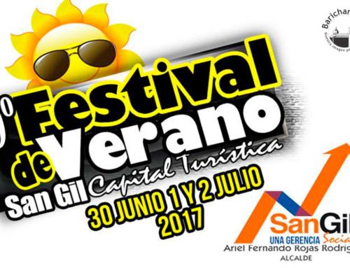 9º. Festival de Verano San Gil 2107