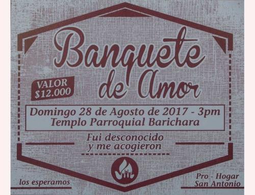 Banquete del Amor Hogar san Antonio