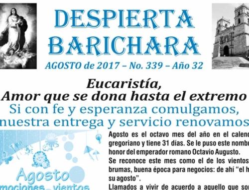 Despierta Barichara mes de agosto