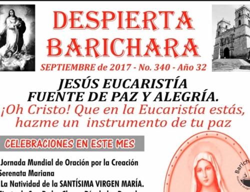 Despierta Barichara mes de Septiembre