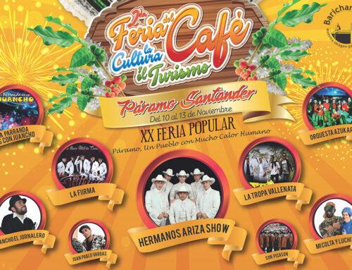2ª. Feria del Café, la Cultura y el Turismo del Páramo