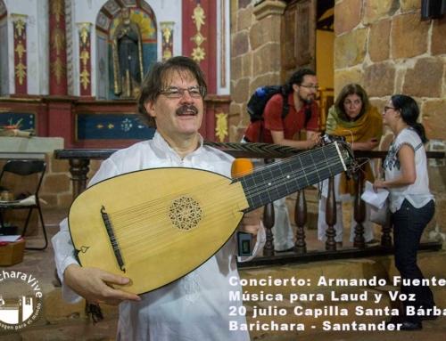 Concierto de Armando Fuentes – Tenor y Laudista