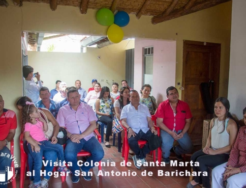 Visita Colonia de Santa Marta al Hogar San Antonio