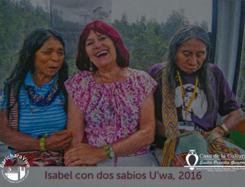 Libro y Exposición Isabel Crooke E. en Barichara