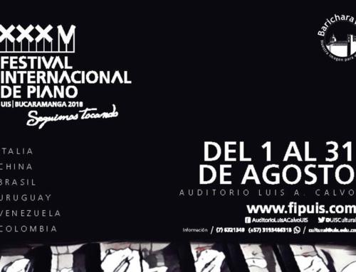 Conciertos Festival de Piano UIS