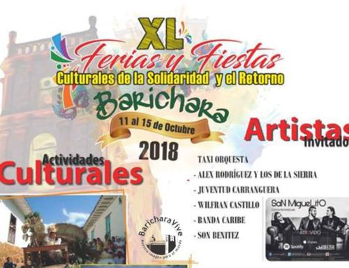 XL Ferias y Fiestas Culturales Barichara