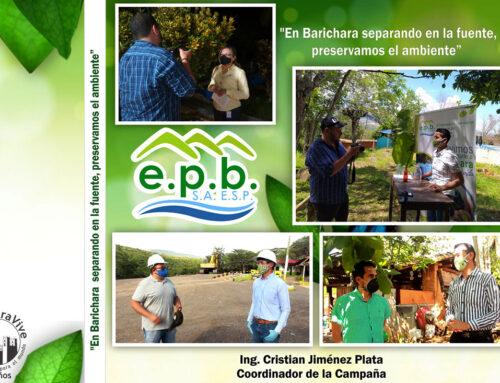 En Barichara separando en la fuente, preservamos el ambiente