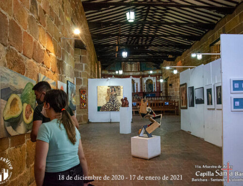 Artistas 11ª. Muestra de Artes Barichara, su balance