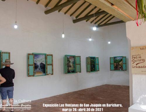 Exposición Las Ventanas de San Joaquín en Barichara