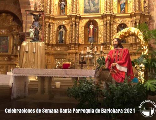 Celebraciones Semana Santa 2021 Parroquia de Barichara