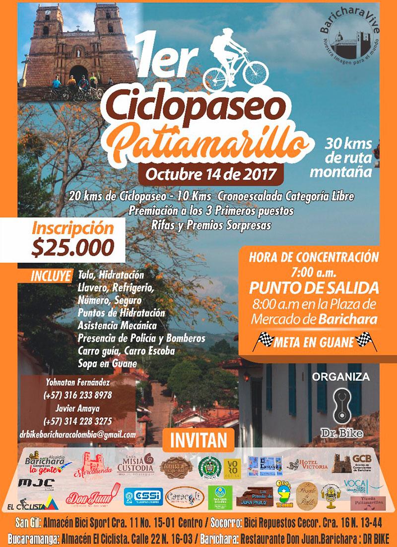 afiche-1er-ciclo-paseo-patiamarilla-2017-baricharavive