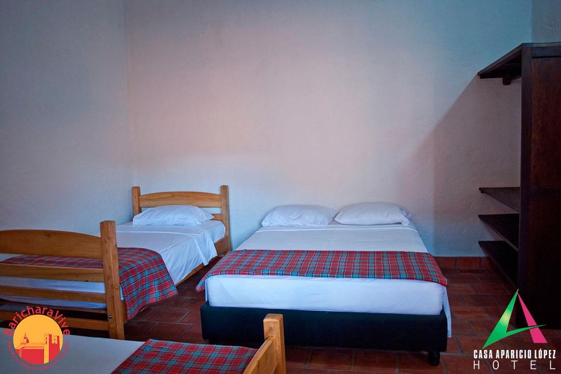 habitaciones13casaapariciolopezbaricharavive