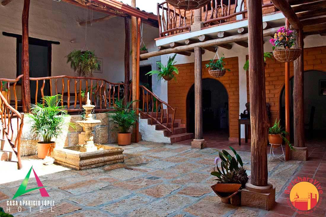 patiocentral1casaapariciolopezbaricharavive
