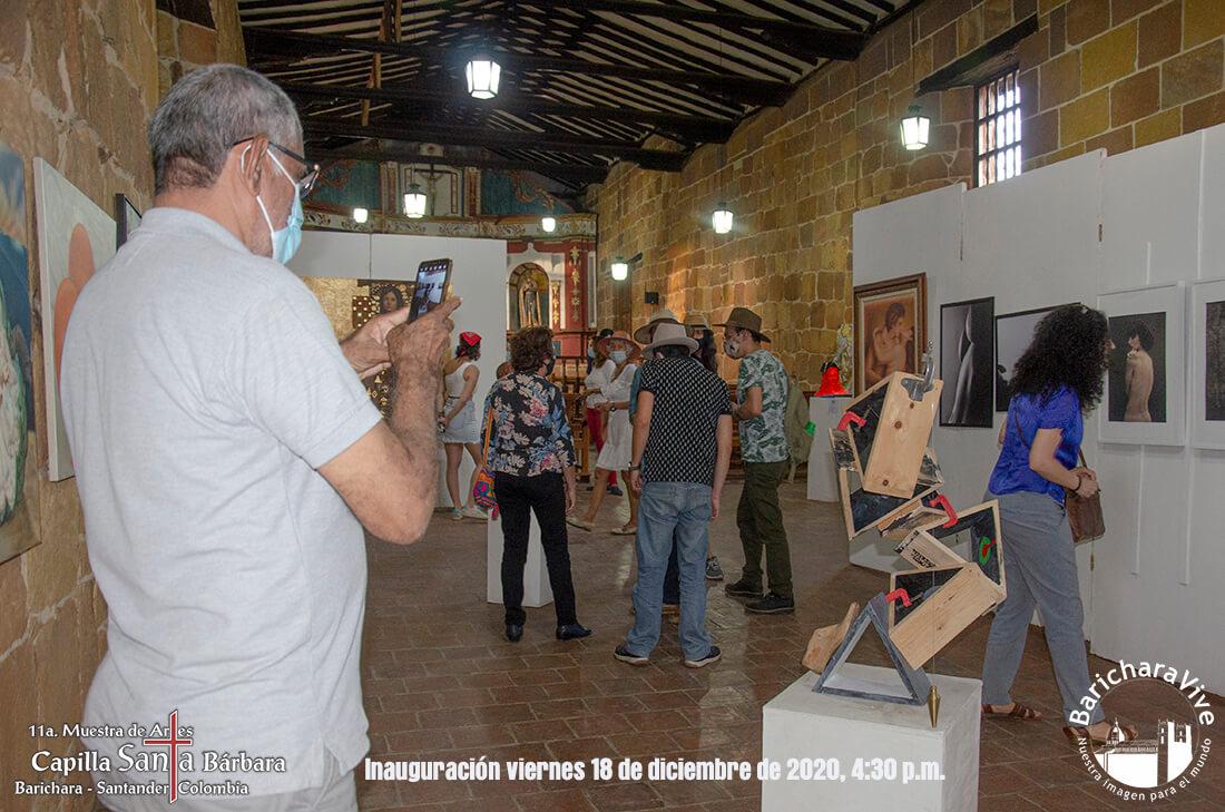 19-inauguracion-11-muestra-de-artes-capilla-santa-barbara-barichara-2020