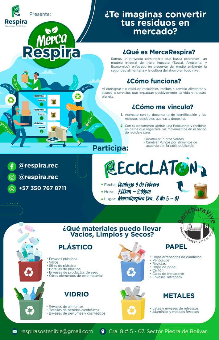 reciclaton-mercarespira-barichara-9-de-febrero-2020