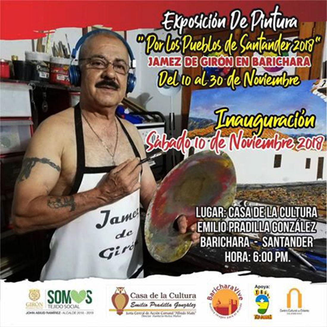 afiche-exposicion-jamez-de-giron-casa-cultura-barichara-2018-1