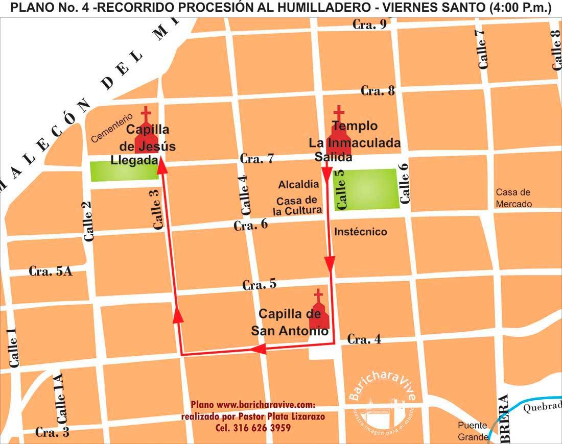 4-recorrido-procesión-al-humilladero-viernes-santo-2019