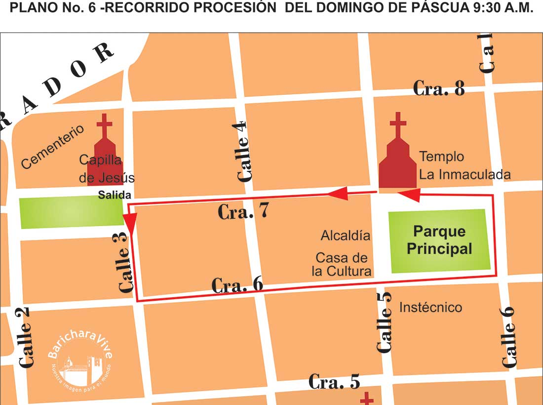 6-recorrido-procesión-domingo-de-pascua-2019