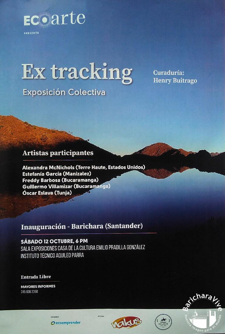 ecoarte-extracking-exposicion-colectiva-ferias-culturales-barichara-2019