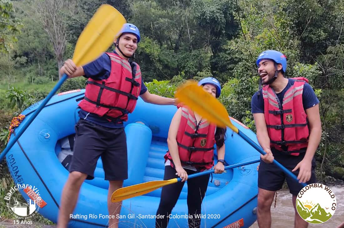Rafting Rio Fonce San Gil -RNT 84668