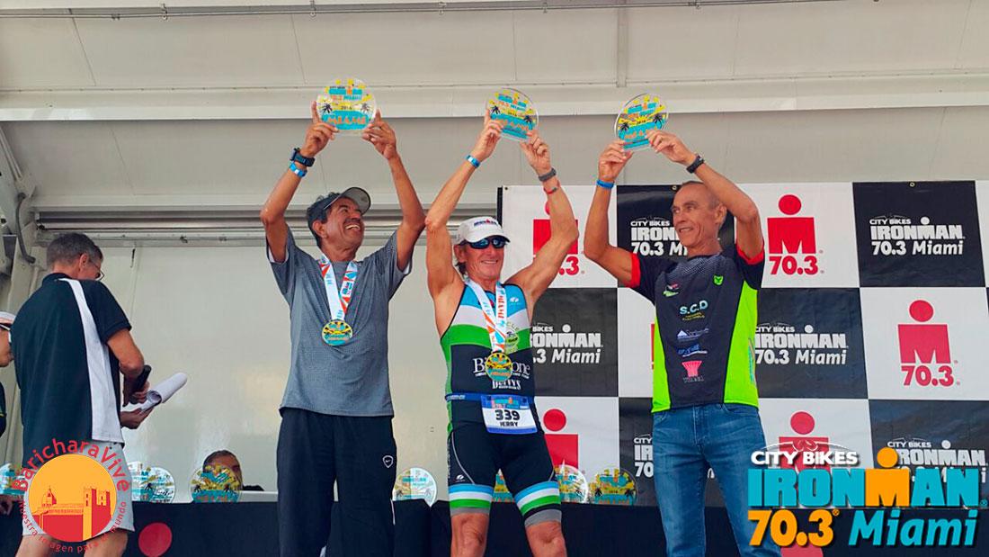 Pódium para Santandereano en el Ironman de Miami 2016