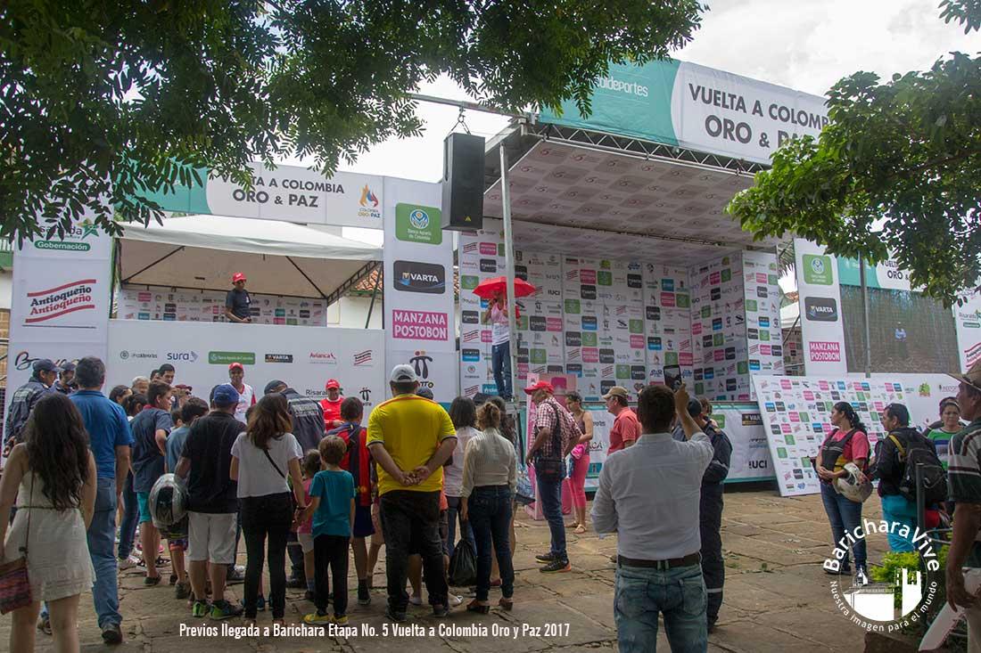 Vuelta Colombia en Bicicleta llega este martes Barichara