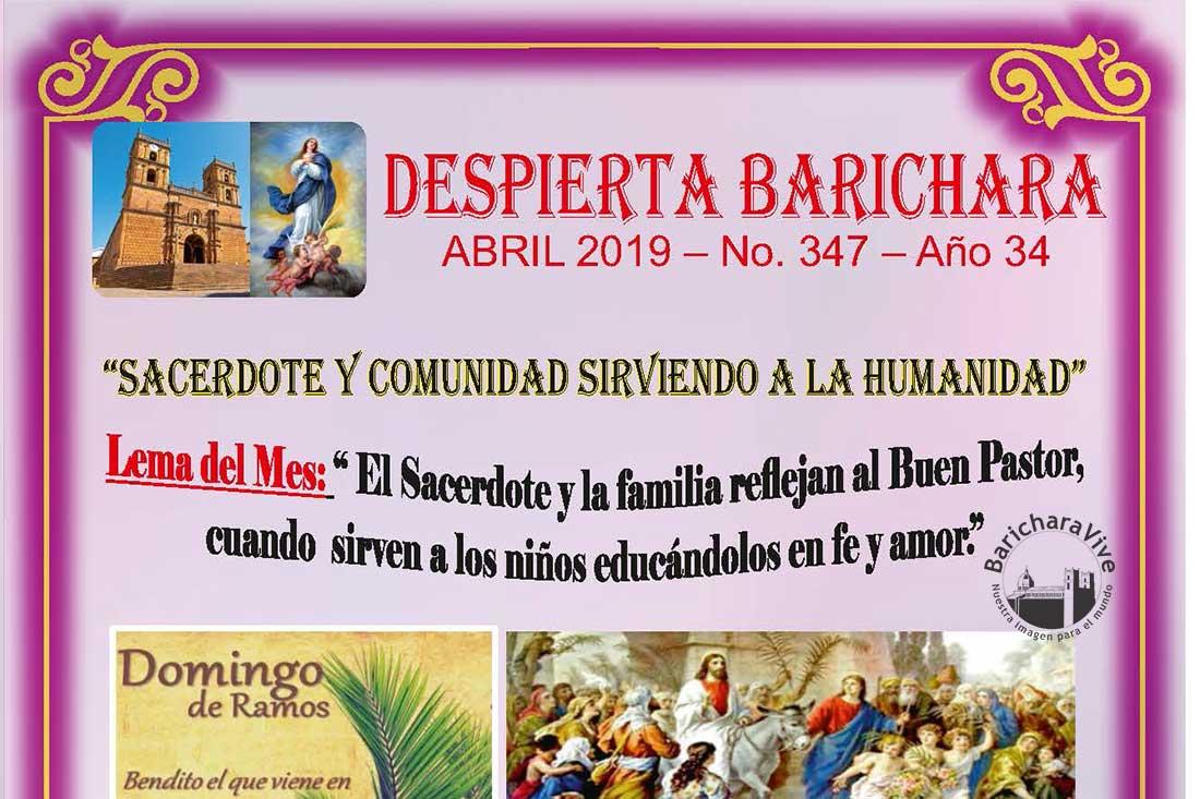 Boletín Parroquial mes de Abril