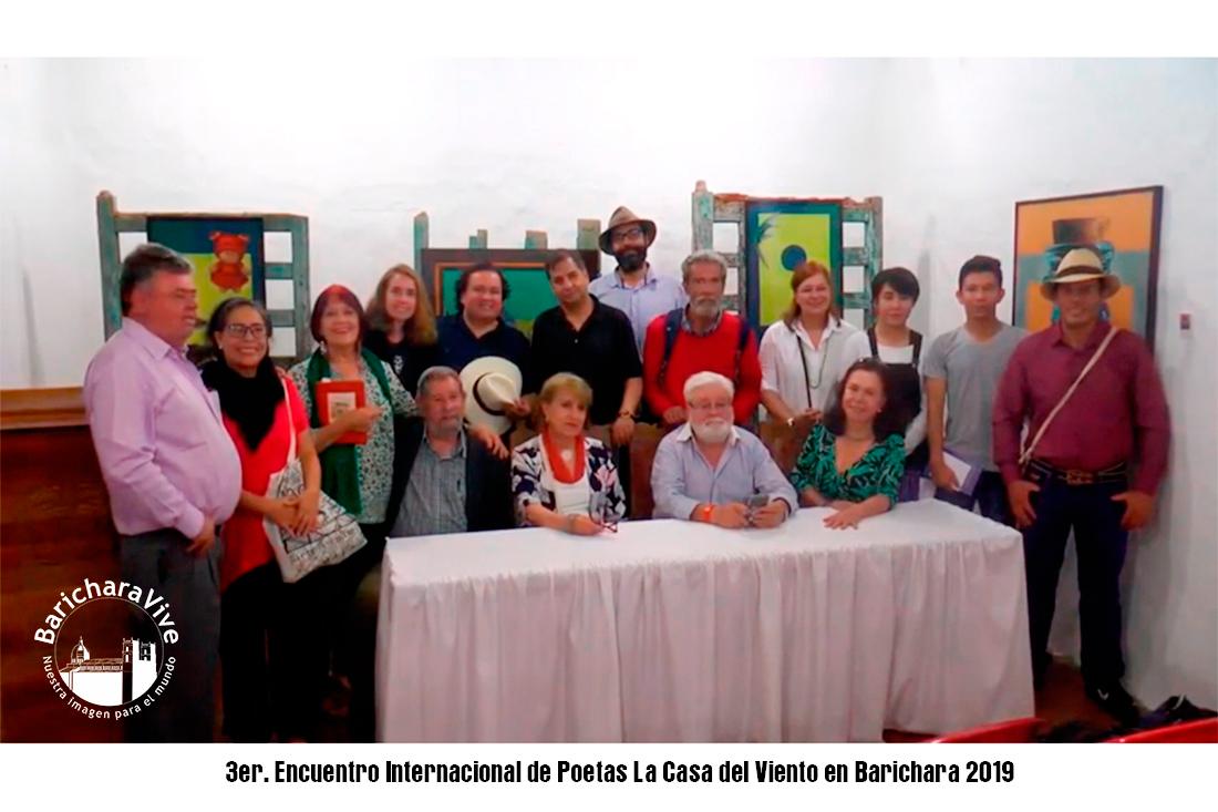 3er. Encuentro Internacional de Poetas La Casa del Viento