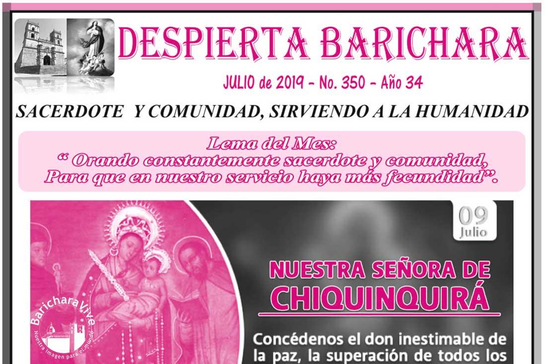 Boletín Parroquial mes de Julio