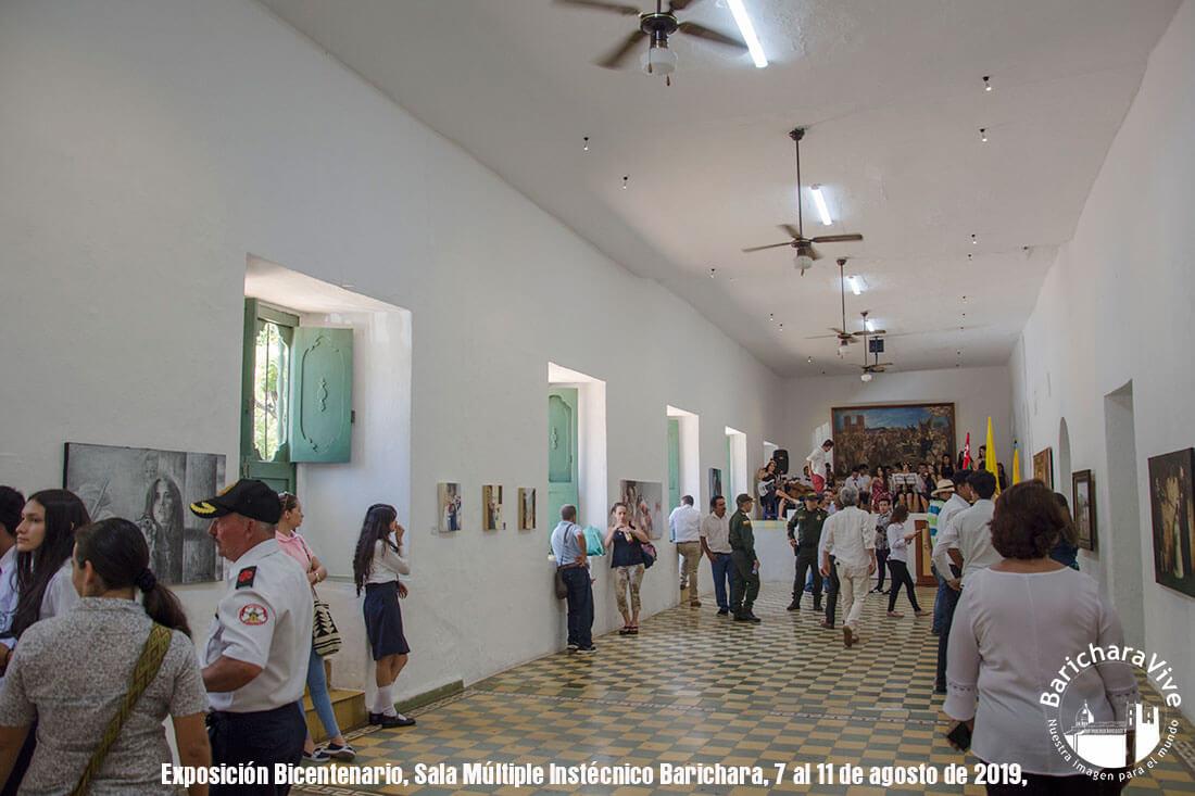 Exposición de Arte Bicentenario en Barichara