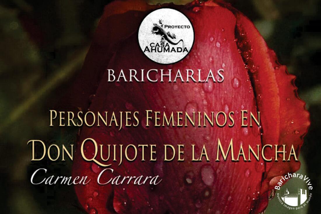 Maestra Carmen Carrara en Baricharalas hoy