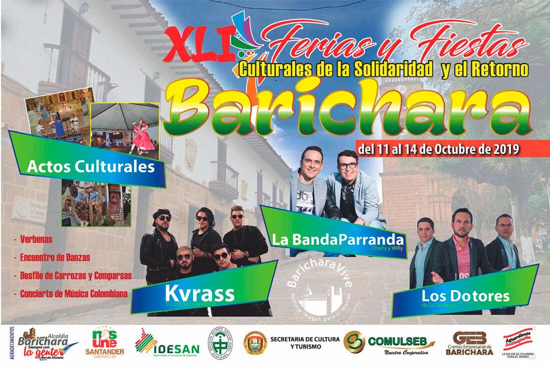 XLI Ferias y Fiestas Culturales Barichara 2019