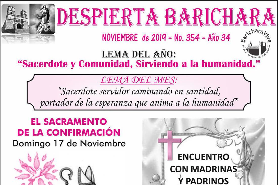 Boletín Parroquial mes de Noviembre