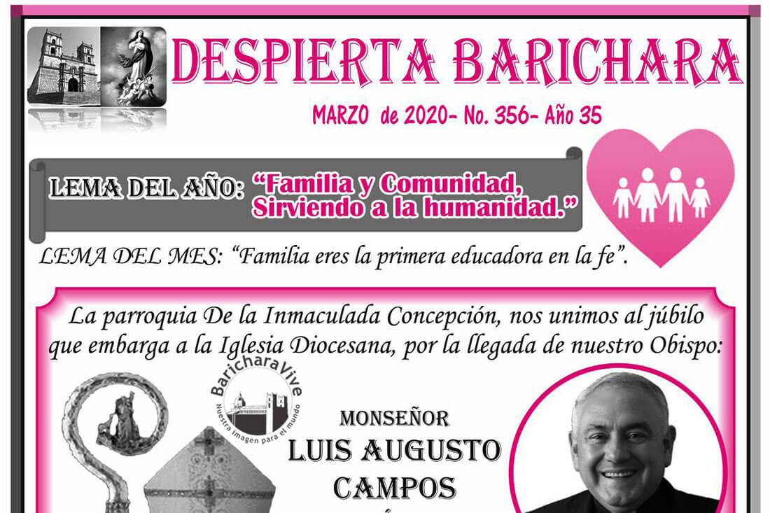 Boletín Parroquial mes de Marzo