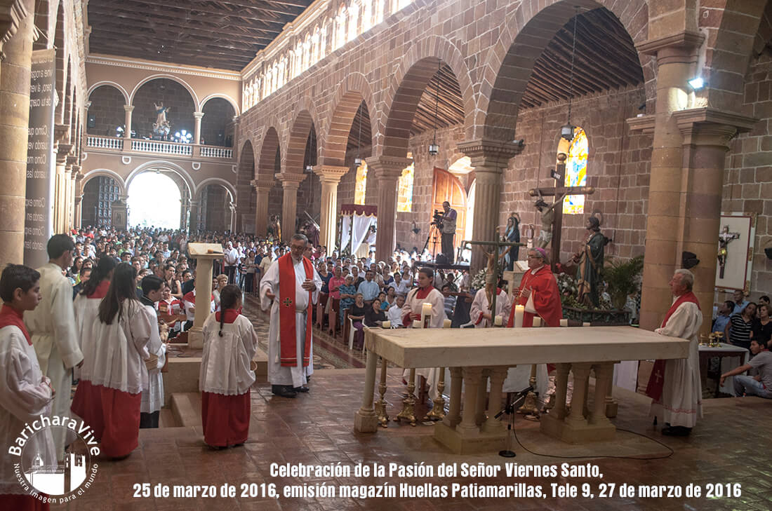 Remembrando  Semana Santa 2016 en Barichara