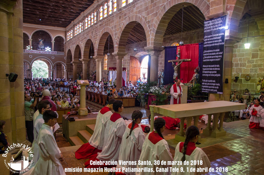 Remembrando  Semana Santa 2018 en Barichara
