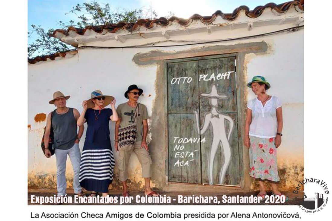 Exposición Artistas Checos en Barichara