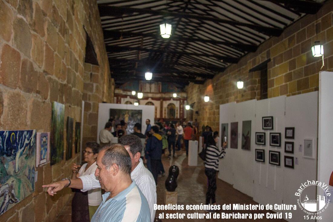 Beneficios al sector cultural de Barichara por Covid 19