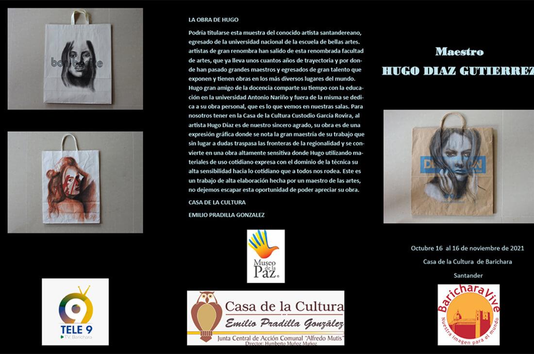 Exposición Fragmentos & Formas Íntimas en Barichara